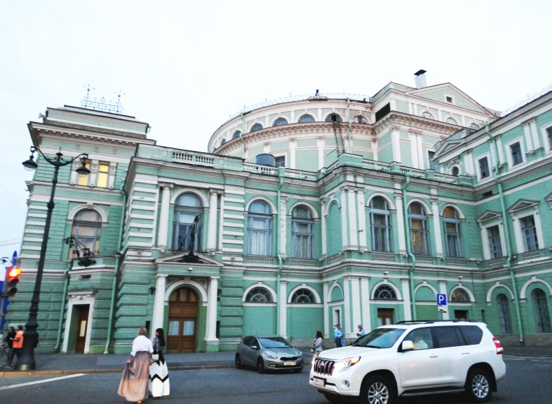 サンクトペテルブルク、マリインスキ劇場旧館