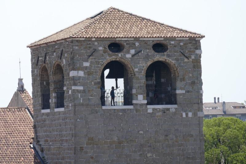 トリエステのサン・ジュスト大聖堂の鐘楼