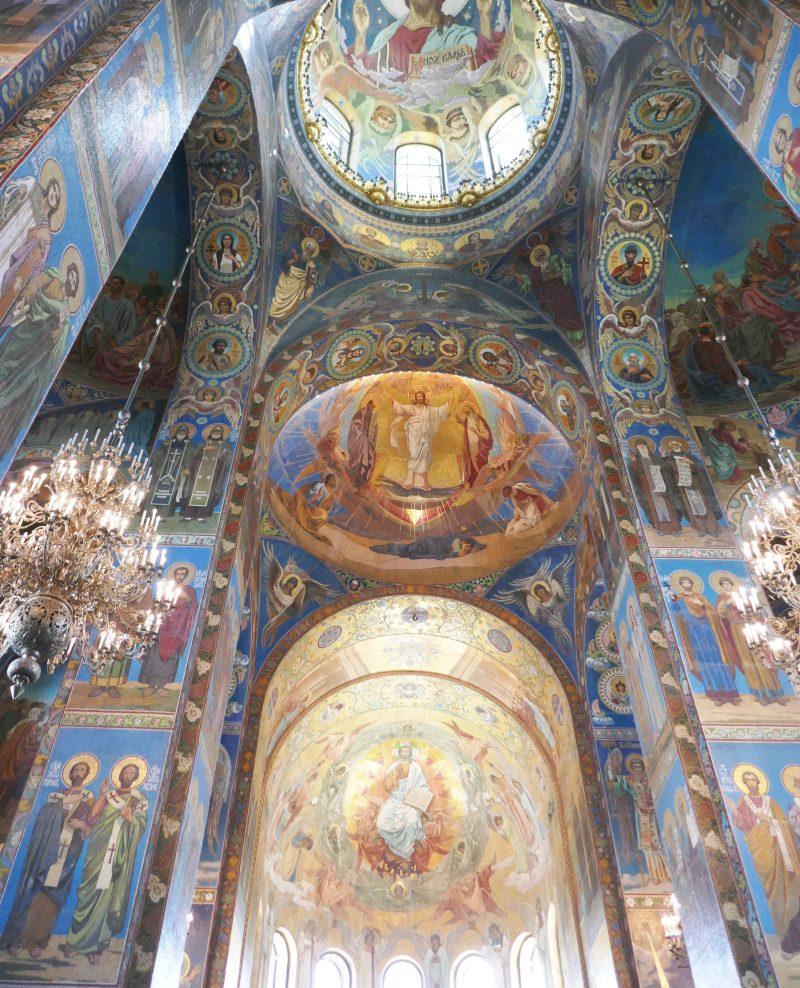 サンクトペテルブルクのみどころ血の上の救世主教会