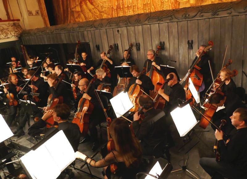 ミハイロフスキー劇場のオーケストラボックス
