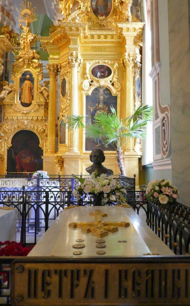 サンクトペテルブルクの観光名所ペトロパヴロフスク大聖堂
