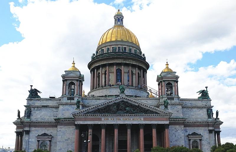 サンクトペテルブルクのみどころ、イサク聖堂
