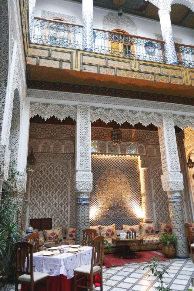 モロッコ旅行の魅力リャドに宿泊
